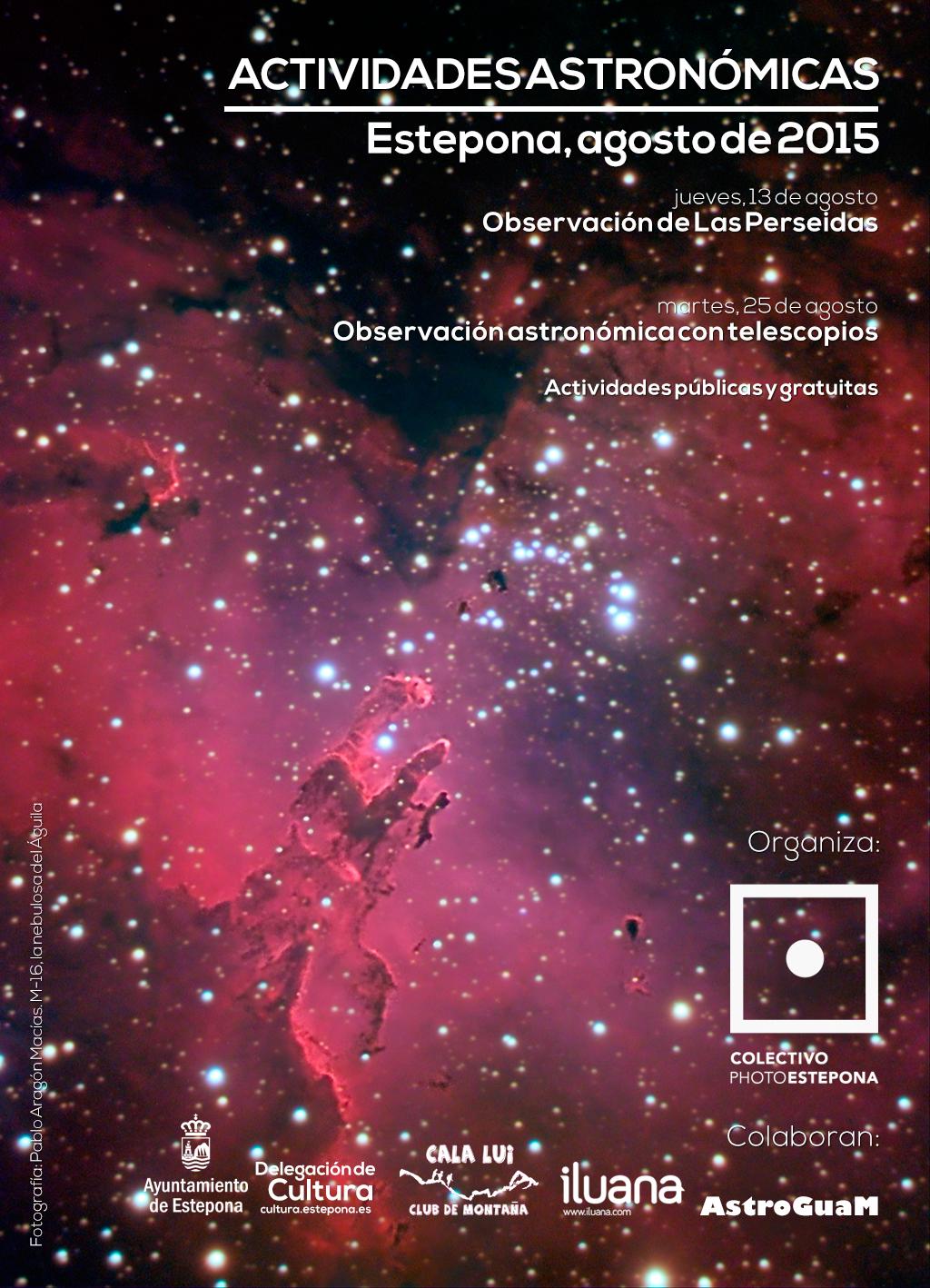 Observaciones astronómicas agosto