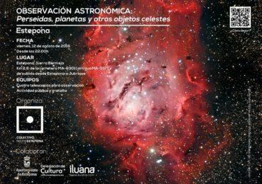IV Jornada de Observación Astrónomica