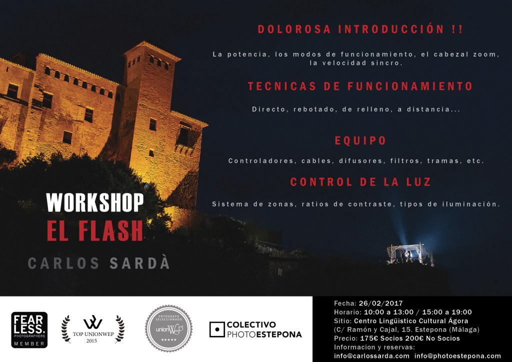 El Flash, Carlos Sardá