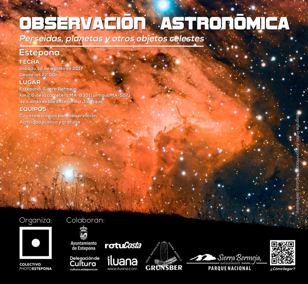 V Jornada de Observación Astronómica