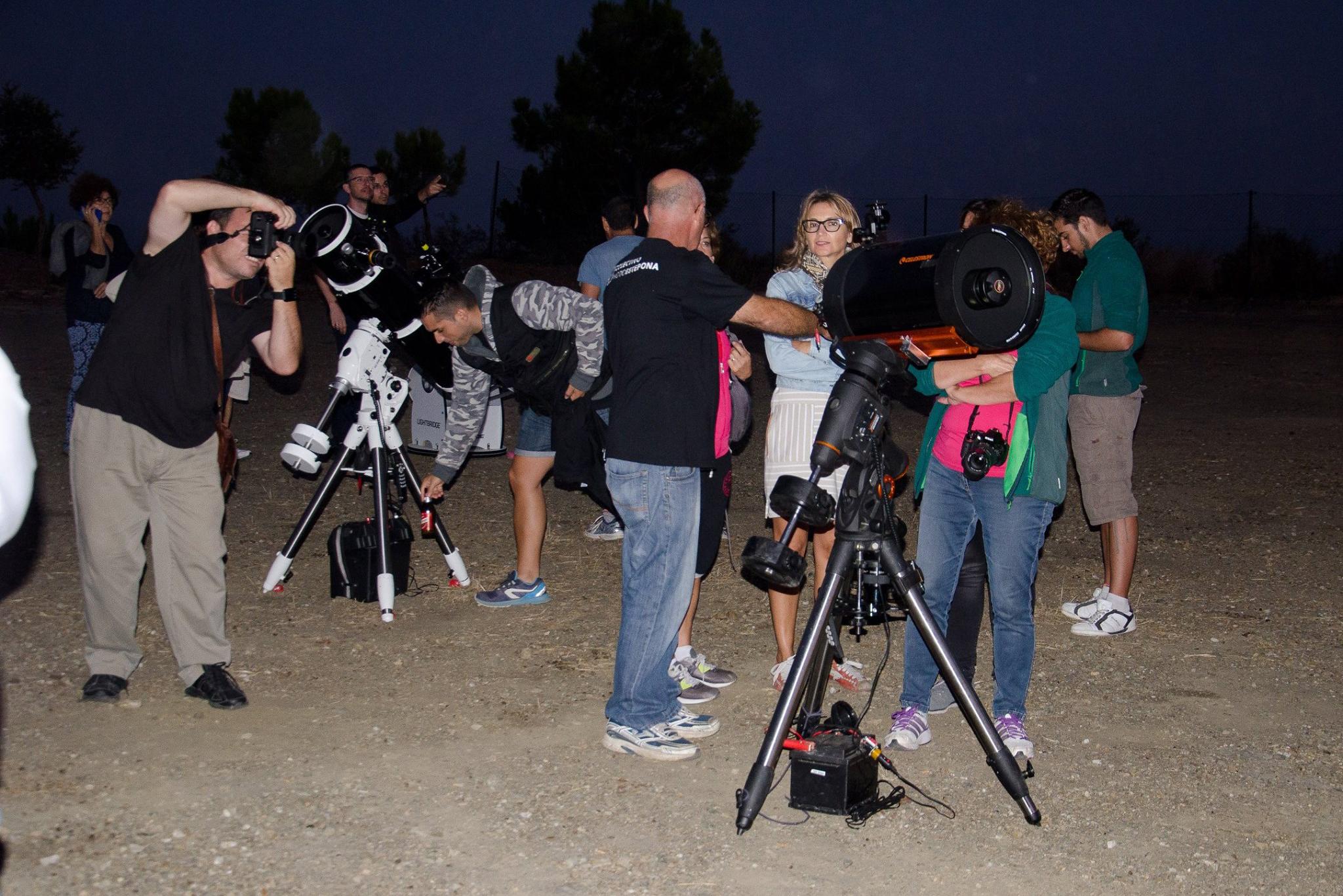 V Jornada Nocturna de Observación Astronómica