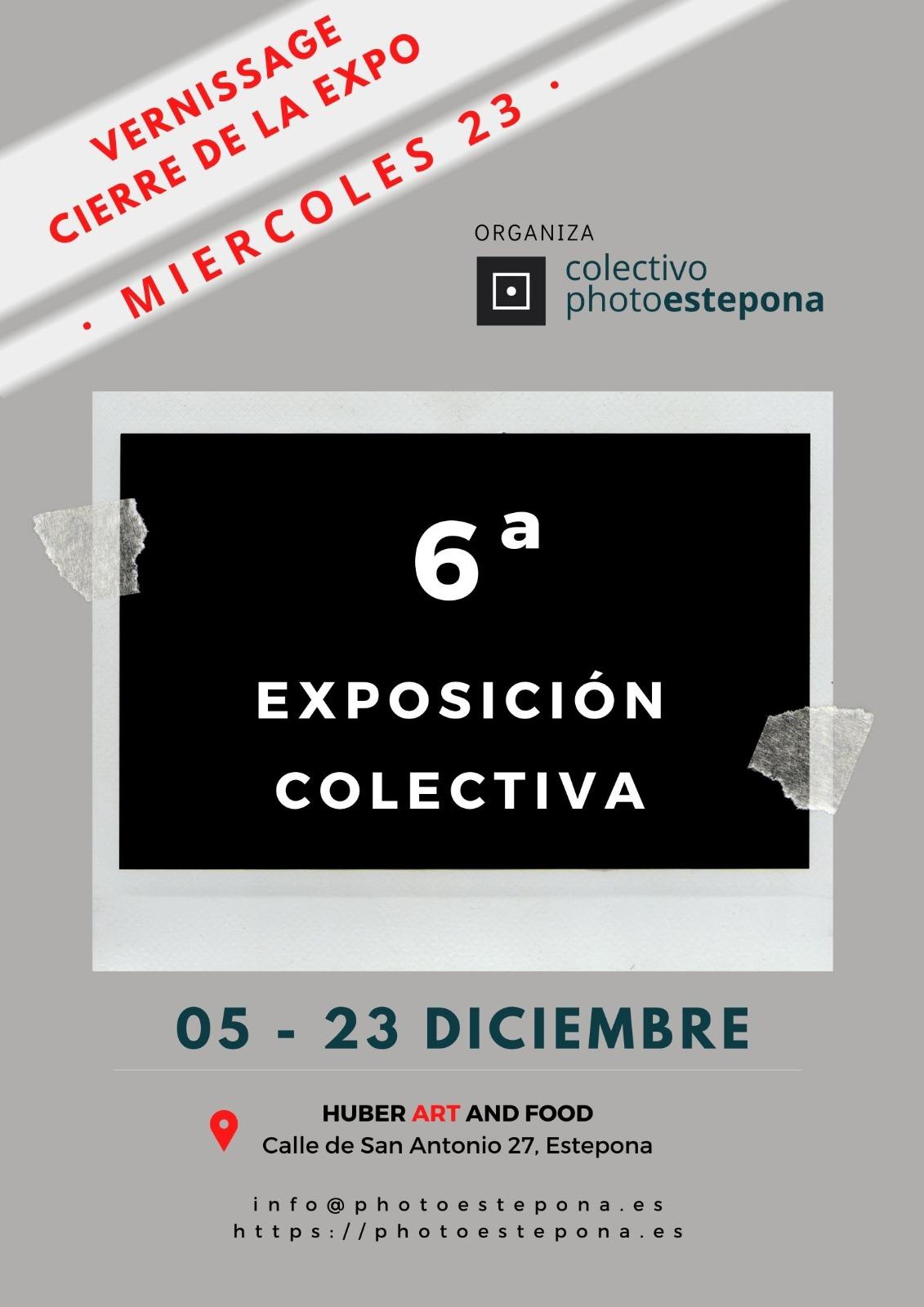 Cierre de la 6 Exposición Colectivo Photoestepona