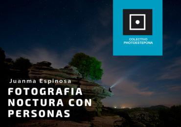 Taller de fotografía nocturna con personas, con Juan Manuel Espinosa
